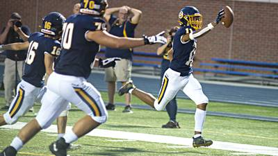 Sterling scores early, often to defeat Alleman