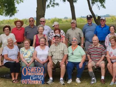 Oswego High School class of 1961 celebrates 60th reunion