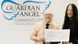 Exchange Club of Joliet donates $10K to Guardian Angel Community Services