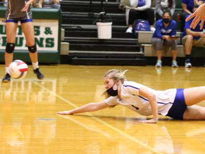 Princeton takes St. Bede down in two sets