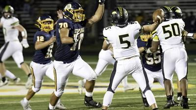 Sterling prepares to face Alleman, Pioneers' highly-touted offensive line