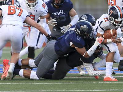 'This new staff is doing a great job of making us a priority' Oswego East linebacker Jared Badie joins growing group to commit to Illinois