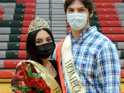 La Salle-Peru High School names Analiyah Flores, Aidan Van Duzer as homecoming royalty