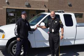 Kendall County Sheriff's Office donates retired squad to IVVC