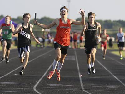 Photos: Interstate Eight Conference boys track meet