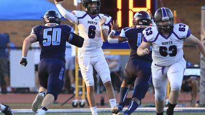 Photos: Downers Grove North vs. Downers Grove South Football