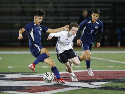 Photos: Downers Grove North vs. Downers Grove South boys soccer, regional semifinal