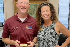 Heartland Bank presents community award
