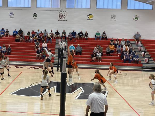 Tri-County Conference Volleyball Tournament: Woodland, Seneca earn spots in Thursday's championship