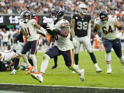 Bears place running back Damien Williams on reserve/COVID-19 list