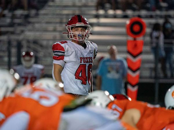 Record Newspapers football notes: Blake Kersting gets bragging rights on dad with Yorkville's big win over Oswego