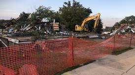 Former downtown Yorkville funeral home demolished