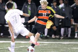 Boys Soccer: Connor King makes presence felt on the attack, sends St. Charles East past Geneva into sectional final