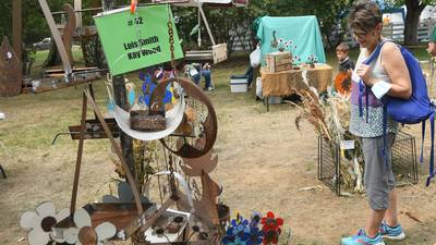 The weather was perfect for the 72nd Grand Detour Arts Festival