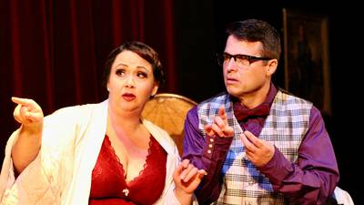 Suspense right in time for Halloween at Streator theater
