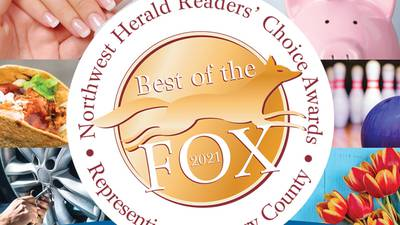 Best of the Fox announces 2021 Readers' Choice Awards for McHenry County