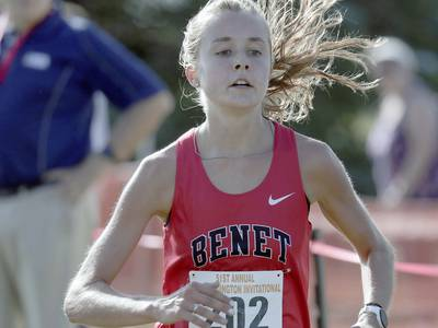Cross Country: Benet's girls second, boys third to lead local teams at Kaneland's Eddington Invite