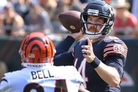Bears say quarterback Andy Dalton will start if healthy
