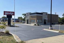 After a fire burned down the last one 6 years ago, New Sycamore Wendy's set for grand opening next week
