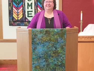 New pastor joins Mayfield Congregational