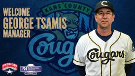 Cougars unveil veteran skipper, former Minnesota Twins pitcher George Tsamis as franchise's next manager