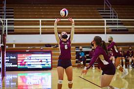 Morris volleyball sweeps Rochelle