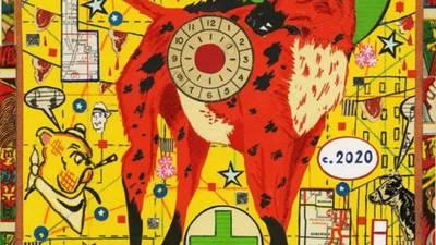 Famed artist Tony Fitzpatrick exhibition to open in museum at COD in Glen Ellyn