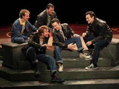 Review: Marriott's 'Grease' revs up for good time rock 'n' roll comedic adventure
