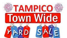 Villagewide yard sales July 17, during Tampico Days