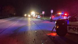 Police: Wauconda officer injured after using squad to block wrong-way drunken driver