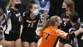 Photos: Woodstock North vs McHenry volleyball