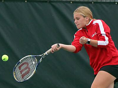 Girls tennis: L-P sweeps doubles for 3-2 win over Pirates
