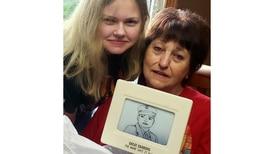 Plainfield teen's illustration of World War II veteran a winner