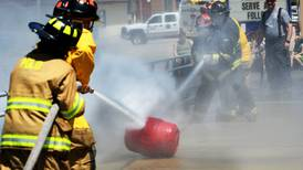 Water fight! Local fire departments compete in Polo