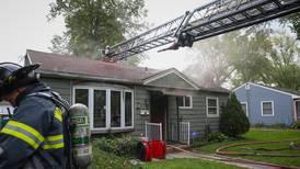 Woodstock house fire leaves structure uninhabitable