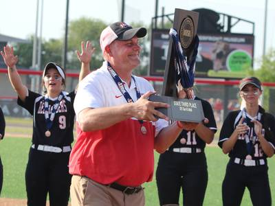 2021 Northwest Herald Softball Coach of the Year: Huntley's Mark Petryniec