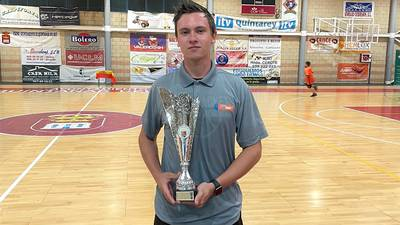L-P alum A.J. Bollis went on trip to Spain to coach basketball