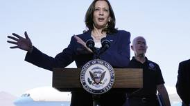 On border tour, Harris laments 'infighting' over immigration