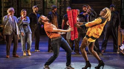 Review: Paramount return dazzles in 'Kinky Boots'
