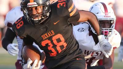 Jamari Brown, DeKalb run over Belleville West