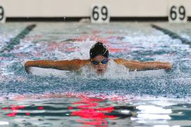 High school girls swimming: Cary-Grove showcases depth to capture Woodstock North co-op Invite title