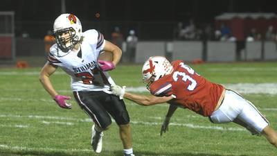Stillman Valley keeps things on the ground, stops Oregon