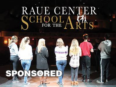 Raue Center's School of the Arts is Coming Soon!