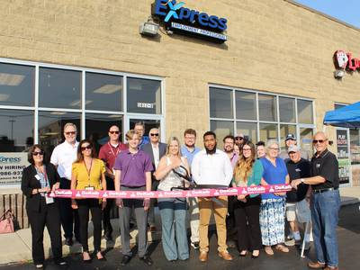 Express Employment Professionals welcomed