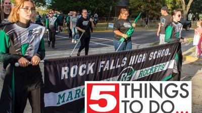 5 Things: Bingo tailgate-style, student music and autumn fun