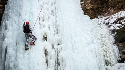 A cold hard climb
