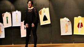 At Engle Lane show in Streator, clothing makes the woman