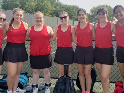 Area roundup: Sauk women's tennis team advances to nationals for third straight season