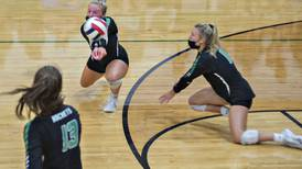 Volleyball: Rockets overcome miscues, opens with win over Maple Leafs