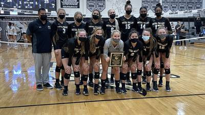 Girls Volleyball: Metea Valley outlasts Kaneland in three sets to take Kaneland Invite title